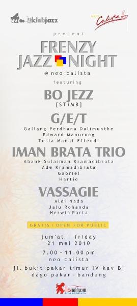 Frenzy Jazz Night @ Neo Calista