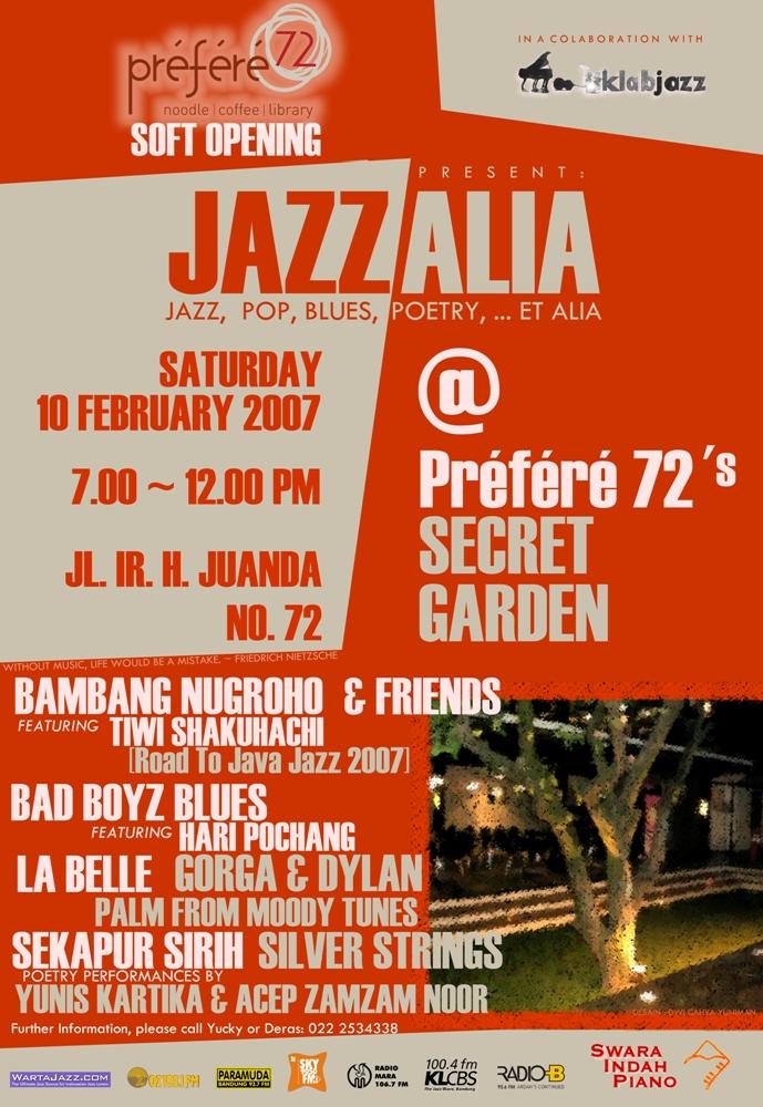 Poster Jazz Alia X Resize