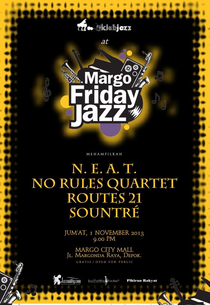 Poster KJ @ Margo Jazz 2013 Black R