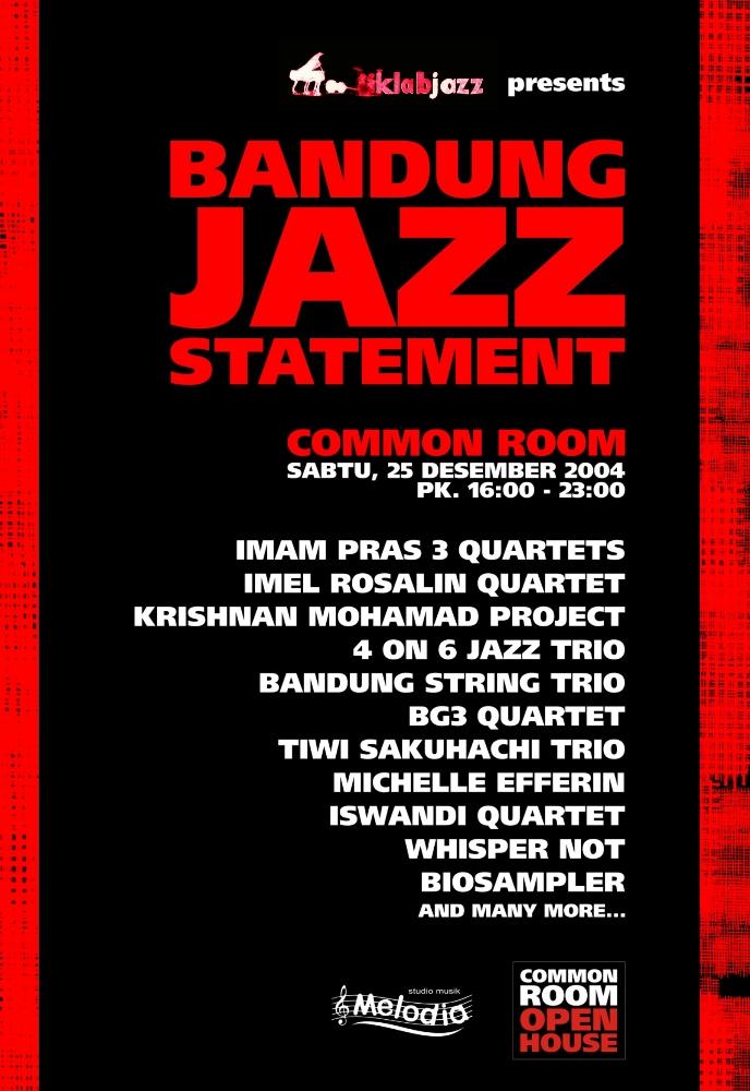 POSTER Bandung Jazz Statement Resize